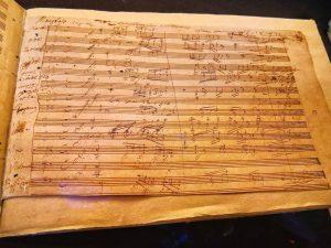 Beethoven. Menschenwelt und Götterfunken . Originalhandschrift, 1814, Faksimile . #lockdown #throwback #august2020 #virtualmuseum ...