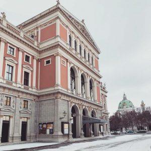 Schneeflocken sind die Schmetterlinge des Winters! ❤️❄️ #repost @myfidelio_at #musikverein #musikvereinwien #igersvienna #wien ...