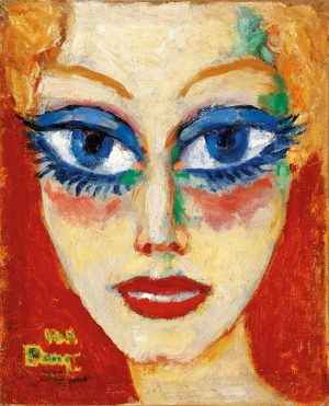 Look at those piercing blue eyes! Kees van Dongen must have been captivated, ...