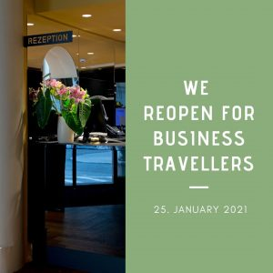 We reopen for business travellers from 25 January. 👩🏼‍💻🧑🏾‍💻 Great breakfast is guaranteed: ...