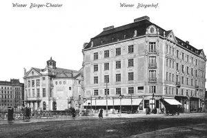 (1906/Österreichische Nationalbibliothek/WienerZeitung) Wiener Bürger Theater Das Wiener Bürgertheater, 1905 auf Betreiben des Schauspielers ...