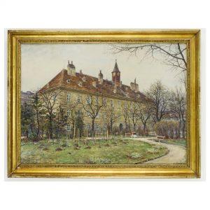 #greenchallenge 💚Auch wir bieten euch heute einen grünen Ausblick: der aufkeimende Frühling im Alten Allgemeinen Krankenhaus in...