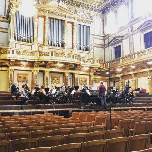 Eigentlich würde der wunderschöne Goldene Saal @musikverein.wien heute bereits völlig verändert aussehen, wenn ...