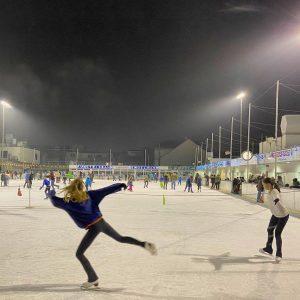 Engelsgleich beim Engelmann #eislaufen #engelmann #Kunsteisbahn #skating #iceskating #hernals #wien #vienna #igersvienna #pirouette #iceicebaby #klassiker #winter #sport...