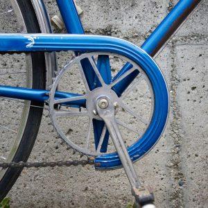 Old school . . . #bikeshit #vintagebike #detail #steelframe #blue #dabadee #dabadoo #singlespeed ...