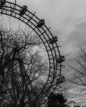 The Prater Wheel in Vienna. Yes, I absolutely enjoyed it as a photographer. #photography #canonphotography #travel #travelphotography...