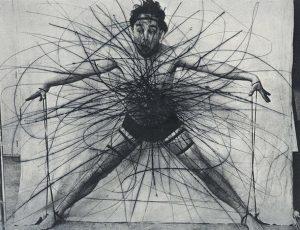 """...TO BE CONTINUED... Face Farces / Body Poses Arnulf Rainer, """"Bauchzentralisation"""", 1973 Auf Druckplatten übertragene Fotos seiner..."""