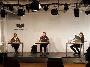 """Jetzt live auf literaturhaus.at: """"Topografie des Exils. Erinnerungswege & Diskurse: Soziologie, Geschichte, Kultur"""" Mit Peter Pirker (Institut..."""