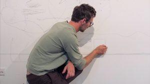"""Entdecke die """"Ether Wall"""" in WEBEN MIT DEM STIFT. Noch bis 24.4. auf @_flimmit !! #webenmitdemstift #diagonale20..."""