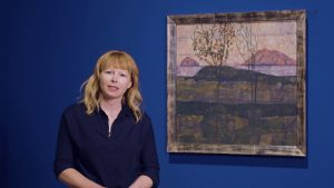 Kunstlieblinge | Versinkende Sonne, Egon Schiele