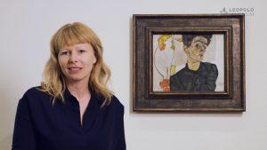 Kunstlieblinge | Selbstbildnis mit Lampionfrüchten, Egon Schiele