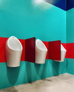 Toilet Triptychon 10.3 - Vienna #dailyinspiration #mindbodysoul #exhibitionspace #observingbeauty #toiletart #toiletlife #mensworld #itsamansworld ...