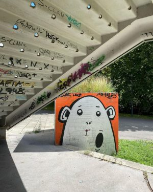 😍 so cute 😍 . . . . . . . #graffiti #streetart #art #graffitiart #urbanart #graff...