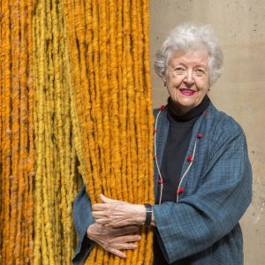 Learn more about the stunning exhibition at @mak_vienna by SHEILA HICKS - Thread, ...