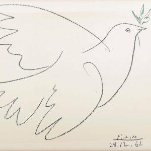 'La Colombe de la Paix', (the dove of peace), Pablo Picasso. #PabloPicasso was ...