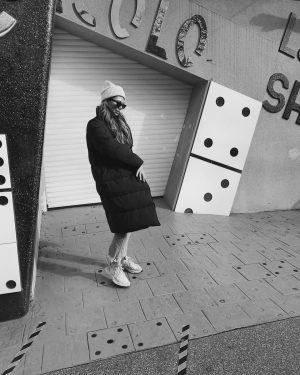 domino effect Prater, Wien, Austria