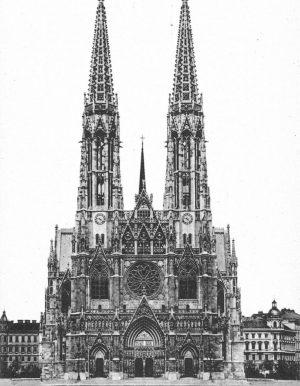 (Um 1900-2019/ÖNB/Wiki) Votivkirche Hintergrund der Errichtung der Votivkirche war ein Attentat an den jungen Kaiser Franz Joseph...