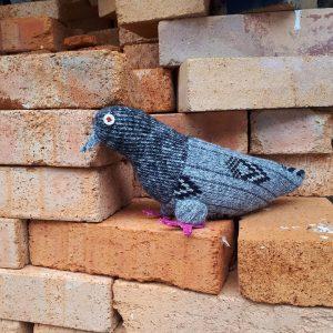 Taube Helga #upcyclingproduct #Zerowaste #Umweltschutz #Klimaschutz #Kinderspielzeug #Deko #decoration #madeinaustria