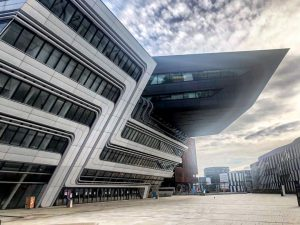 Vienna• WU Campus (February 2021) _______ #vienna #wien #wucampus #messewien #prater #stadtentwicklung #buildings #universitycampus #Urbandevelopment #colourful #urbanplanning...