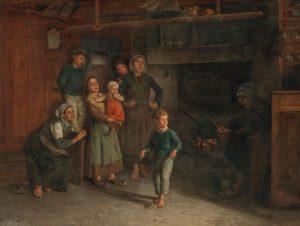 Benjamin Vautier, Paintings, 16 February. The Swiss painter Benjamin Vautier (1829-1898) is one ...