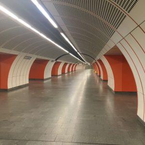 #Vienna #public transport #daily pleasures #underground #U3