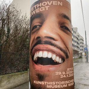 that smile. #beethovenbewegt #beethoven2020 #beethoven #kunsthistorischesmuseum #contemporaryart #modernart #huttengasse #ottakring #wienliebe #wienmalanders #viennagoforit #viennagram #faltersbestofvienna #oesterreichbild_azw #shotoniphone...