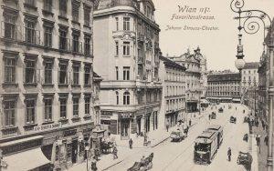 Wien 4., Favoritenstraße mit Johann Strauß-Theater. Ansichtskarte 1912. Paul Ledermann. Wien Museum.