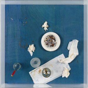 #ArtworkOfTheWeek - Dinner is over, the guests have left. In his