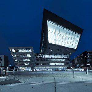 Habt ihr den Campus WU schon einmal bei Nacht gesehen? 😍 Foto von 📸📸 @silberschneider.photography 📸📸 Wollt...
