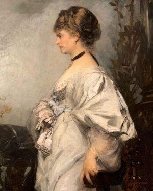 Details of Magdalena Plach by Hans Makart (1870) 📍Belvedere Museum Belvedere Museum