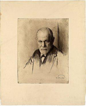 Gefällt ihnen ihr Bild, Herr Dr.Freud? Der Begründer der Psychoanalyse war begeistert vom ...