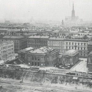 #StorySunday KÜNSTLERHAUS HISTORY ✨✨✨ >>>Chapter 10: Doch zu klein? 1872 kam es innerhalb ...