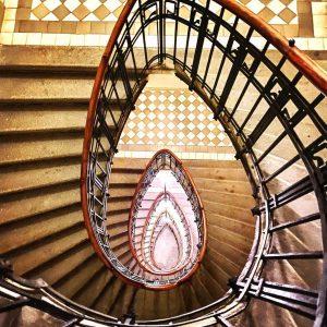 |[ WIENER ALTBAUCHARME ]| • #vienna #architecture #fromwhereistand #art #staircase #atbau #stiegenhaus #lockdownlife ...