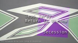 theartVIEw – Tess Jaray at Secession