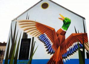 #duck #freedom #fly #yppenplatz #mural #wien #vienna #streetartvienna #streetart #streetartphotography #streetartdaily #streetartlover #graffitiwien ...
