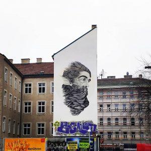 #thoughtful #beard #man #beardsofinstagram #mural #artsyvienna #wien #vienna #streetartvienna #streetart #streetartlover #streetartphotography #streetartdaily ...