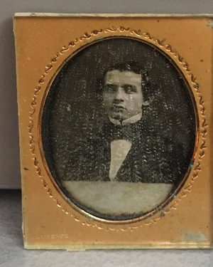 """Daguerreotypie von Martin M. Lawrence 1850er Jahre oder """"Ein Schatz"""" 📷 Worüber freut sich eine Kustodin? 😊..."""