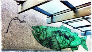 MuQua passage #hipstagram #muqua #museumsquartier #graffiti #viennamurals #streetart #vienna #ruin @r_u_i_n_ #Hipstamatic #Frederick ...