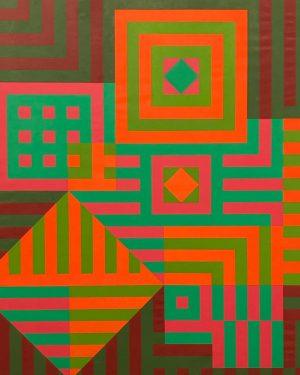 V I V I D, Kiu-Siu, Victor Vasarely, The Essl Collection, Albertina Modern ...