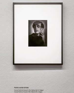 "Franz Xaver Setzer - Conrad Veidt. Exhibition ""Faces"" @albertinamuseum in Vienna. This awesome ..."