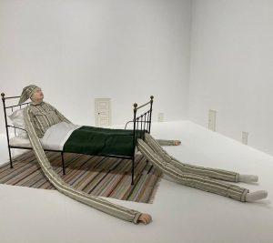 Sammlung Essl #sammlungessl #albertinamodern #art #artist #peterland #danielspoerri #franzwest #peterhalley #georgbaselitz #arnulfrainer #anettemessager ...