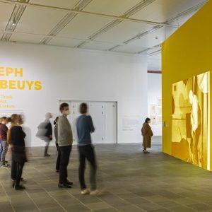 Finally open: Our exhibition Joseph Beuys - Think.Act.Convey. #beuys #josephbeuys #belvedere21 #beuys2021 Belvedere ...