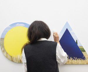 #Final #Pinsel (!) #Touches auf #Foto #Ausstellung #MarkusGuschelbauer >;e) - im #Eikon #Schauraum ...