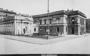 (1880/ETH Zürich/Wiki) Nach der Ende 1857 getroffenen Entscheidung Kaiser Franz Josephs I., die ...
