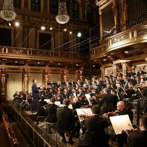 Impressions from yesterday's recording of Bruckner's Symphony No. 5 with Maestro Christian Thielemann @musikverein.wien 🎶 This recording...