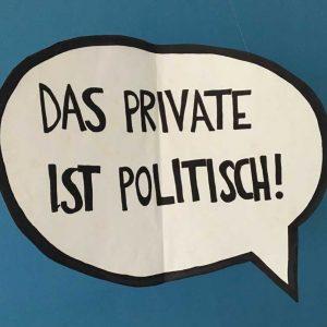 """2/3 - """"Das private ist politisch!"""" - Unsere Gesellschaft, unsere Sprache, unser Leben sind diverser, inklusiver und..."""