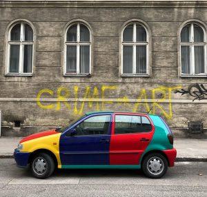 Crime or Art . . . #streetofvienna#streetart#viennagoforit#artoftheday#photodaily#colourphotography#colorfullife#viennalife#viennalove#viennascene