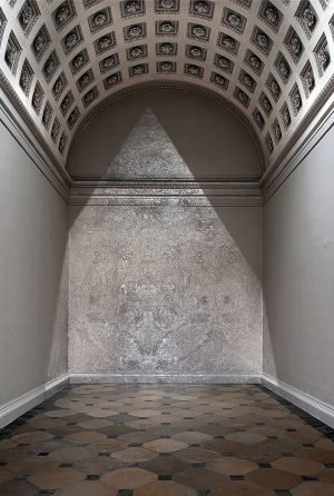 Richard Wright No Title 2013 Silver leaf on wall Dimensions variable Installation view at @kunsthistorischesmuseumvienna 18/04/2013—30/09/2013 ....