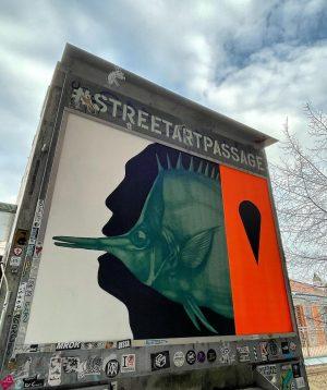 Fischkopf @r_u_i_n_ #streetart #streetartvienna #graffiti #graffitiart #sprayart #spraypaint #vienna #fischkopf MQ – MuseumsQuartier ...