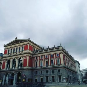 Musikverein 🎹🎶 Looking forward to go try some Bösendorfer today 😍💞